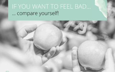 Do you want to feel bad? Compare yourself!