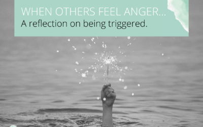 Dealing with someone else's anger. Or protecting our own true authentic selves.